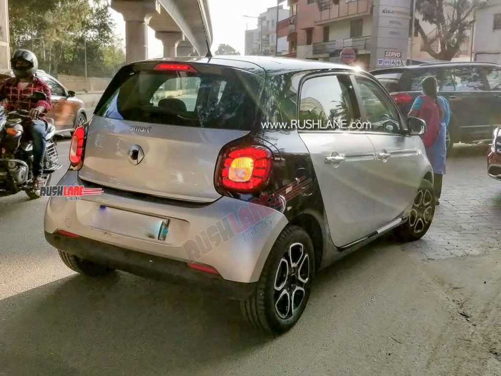 smart forfour (smart electric car) rear India