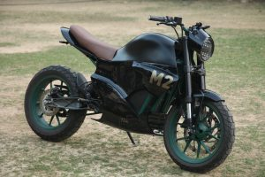M2 electric bike front quarters Vikram Mishra