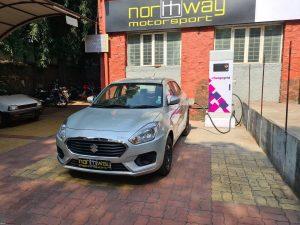 Maruti Dzire EV Electric charging
