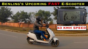 New Benling Icon high-speed electric scooter spied on test [Video]