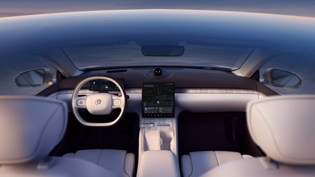Nio ET7 interior dashboard