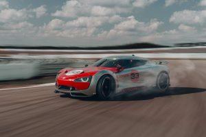 Toyota Concept GT drifting