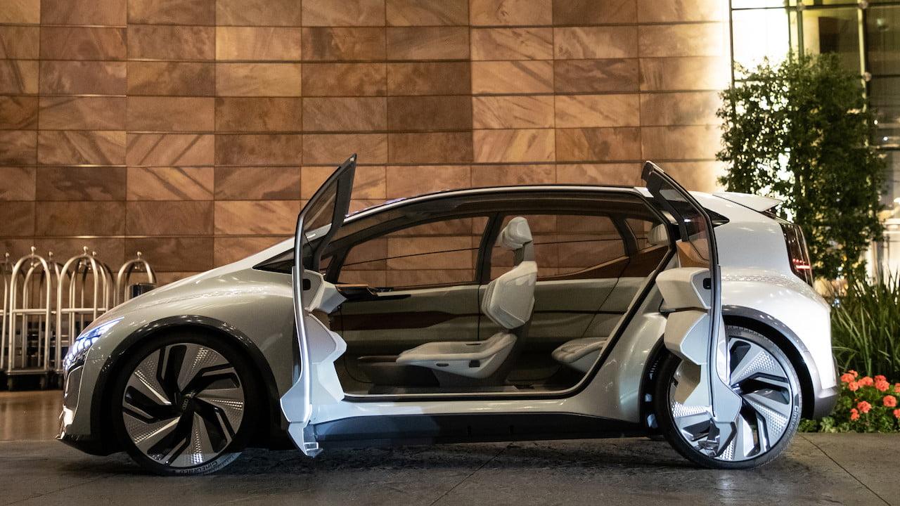 Audi AI ME sucide doors side profile