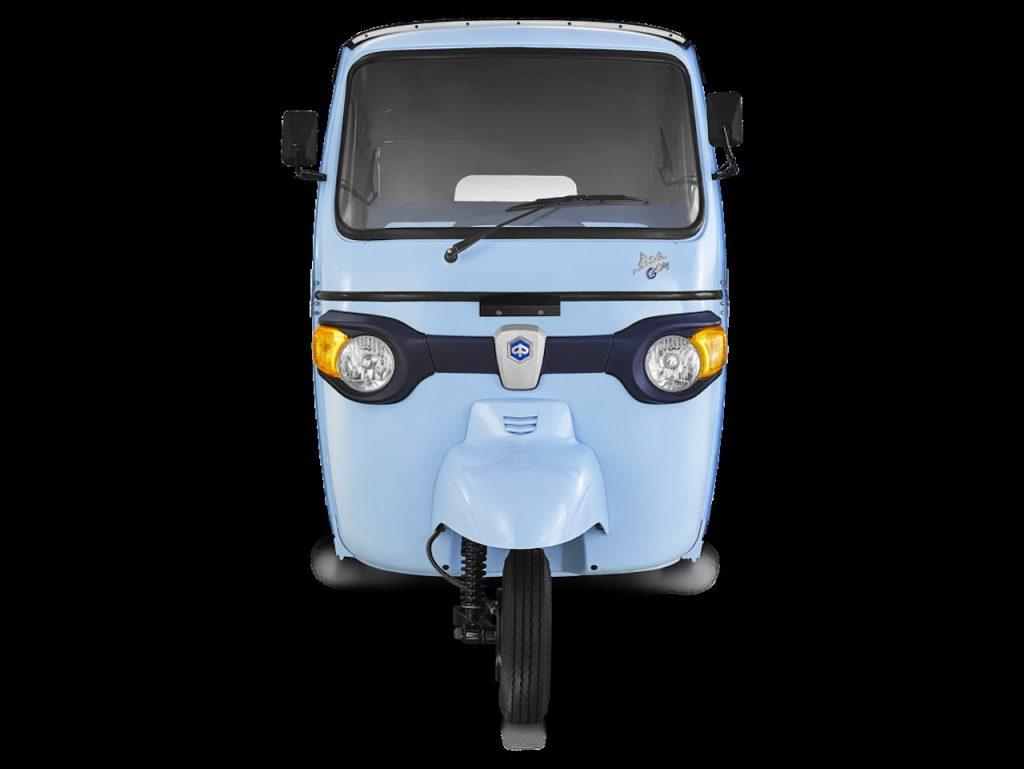 Piaggio Ape E-City electric auto front