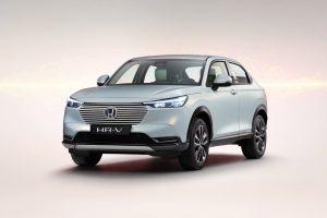 EU 2021 Honda HR-V front three quarters