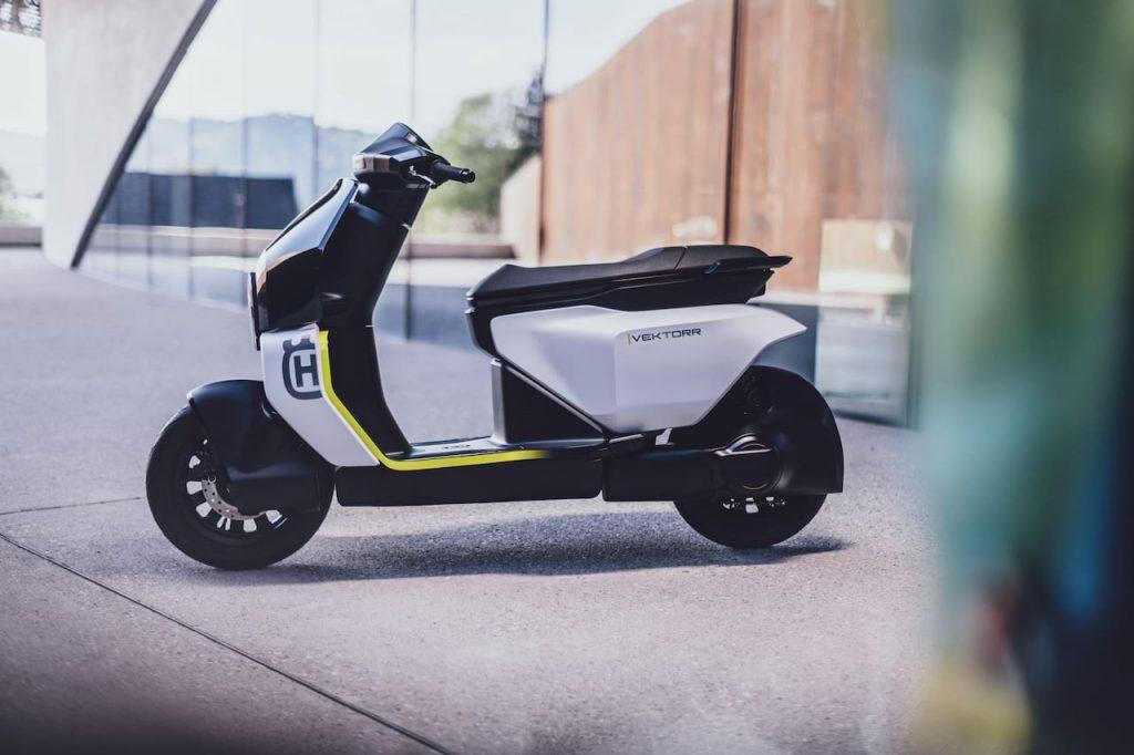 Husqvarna Vektorr Concept previews the Husqvarna electric scooter