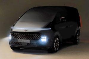 Hyundai Staria (New Hyundai H1 2021) teaser