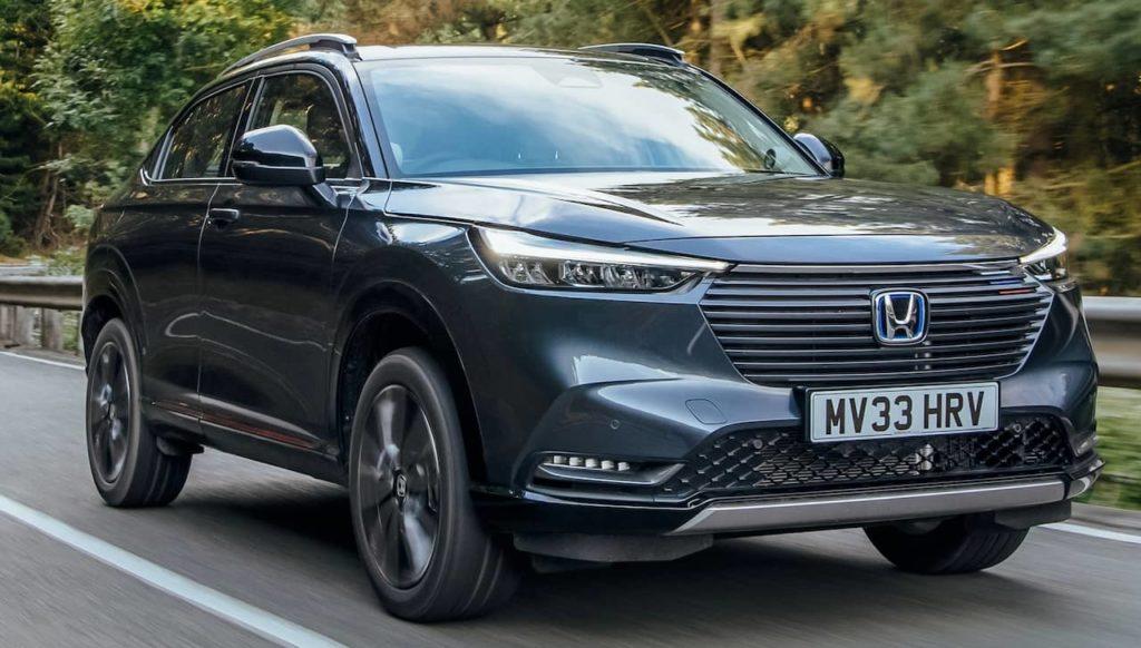 New Honda HR-V Hybrid UK spec