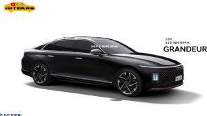 2022 Hyundai Grandeur or 2022 Hyundai Azera rendering