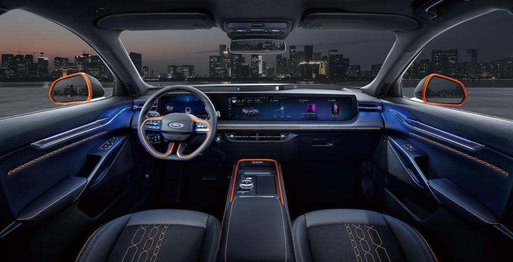Ford Evos interior