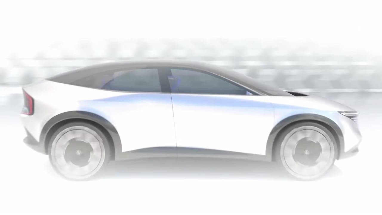 New-Nissan-electric-SUV-coupe-dynamic-teaser