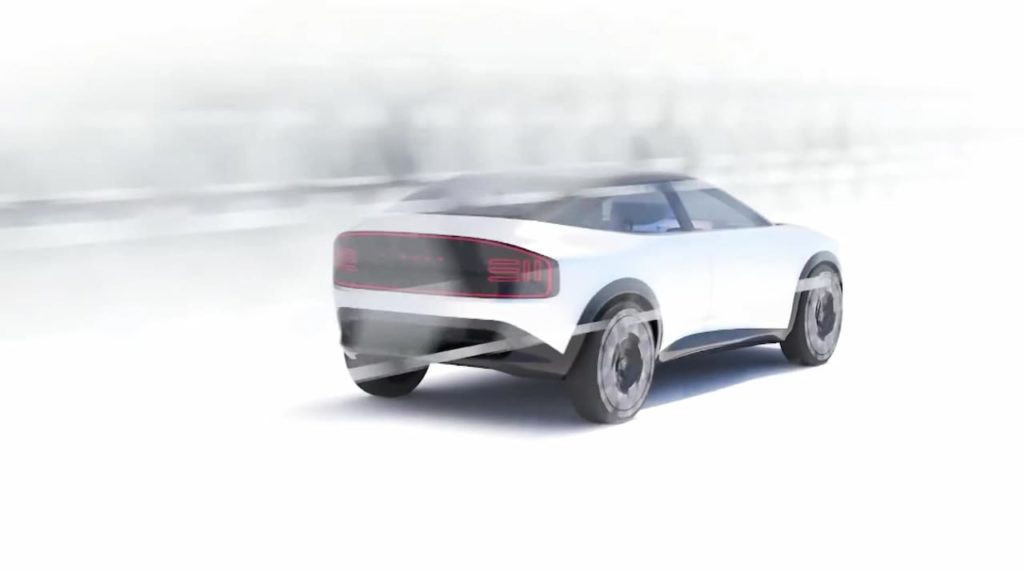 Nissan electric SUV like Nissan Juke