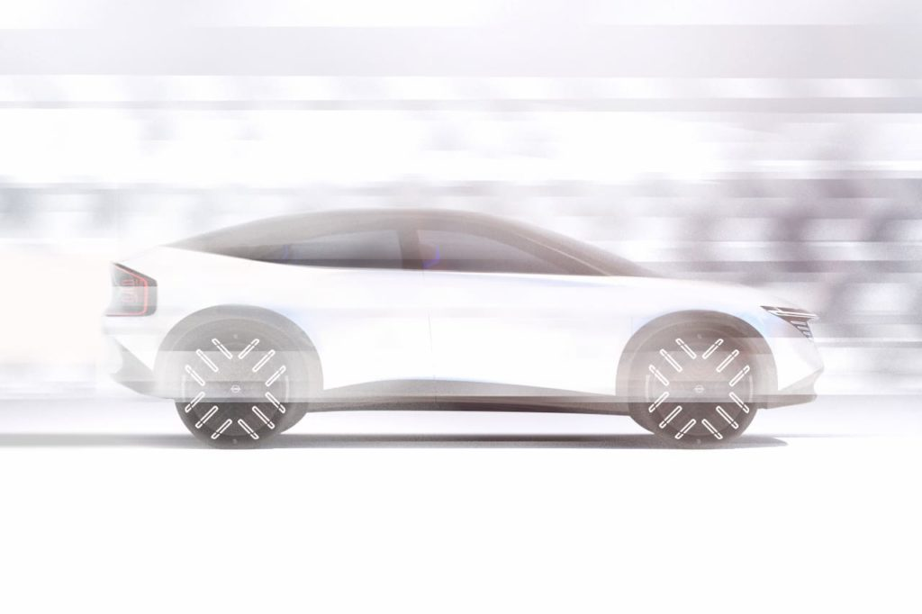 New-Nissan-electric-SUV-coupe-side-profile-teaser