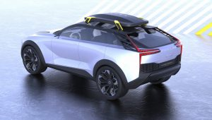 Volvo electric SUV concept unofficial