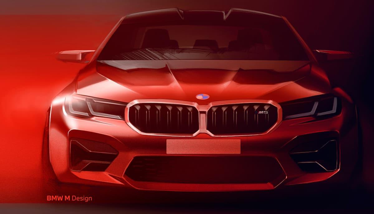 BMW M Design sketch