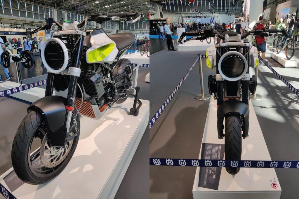 Husqvarna E-Pilen Concept front Munich IAA 2021