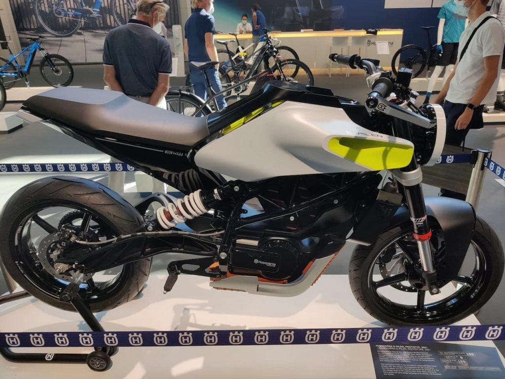 Husqvarna E-Pilen Concept side profile IAA 2021
