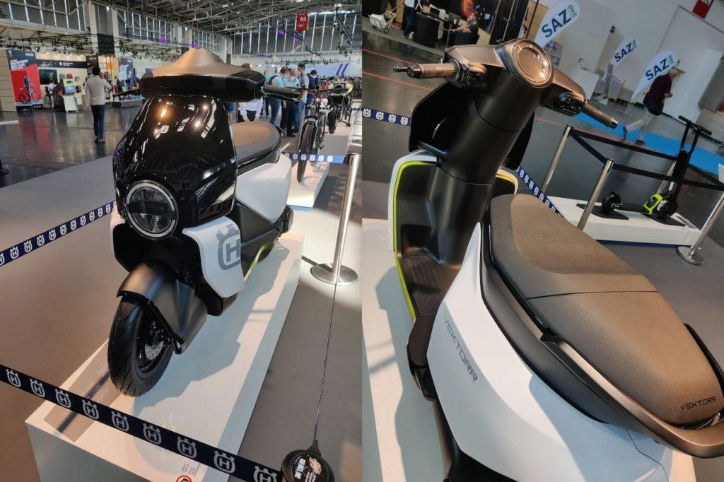Husqvarna Vektorr Concept front rear IAA 2021