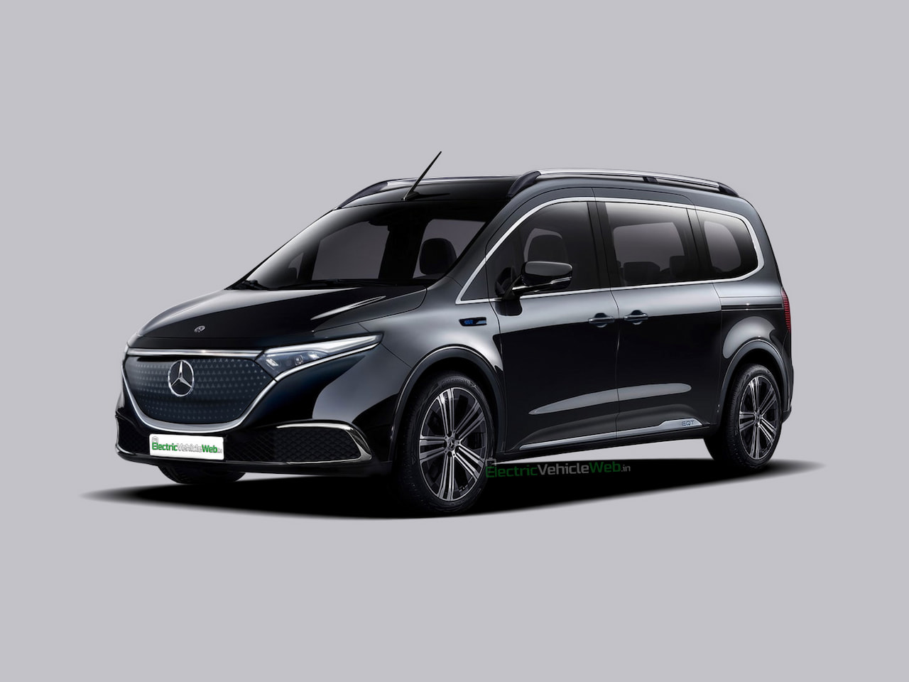 Revised 2022 Mercedes EQT render T-Class Electric