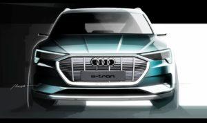 Audi e-tron sketch
