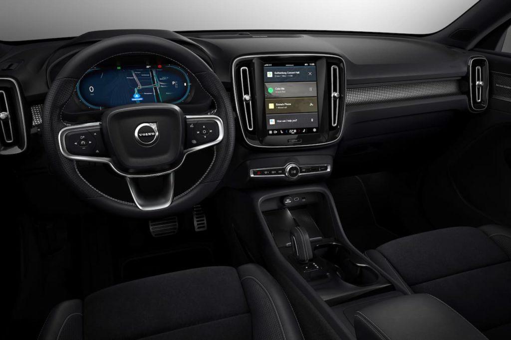Volvo XC40 Recharge interior
