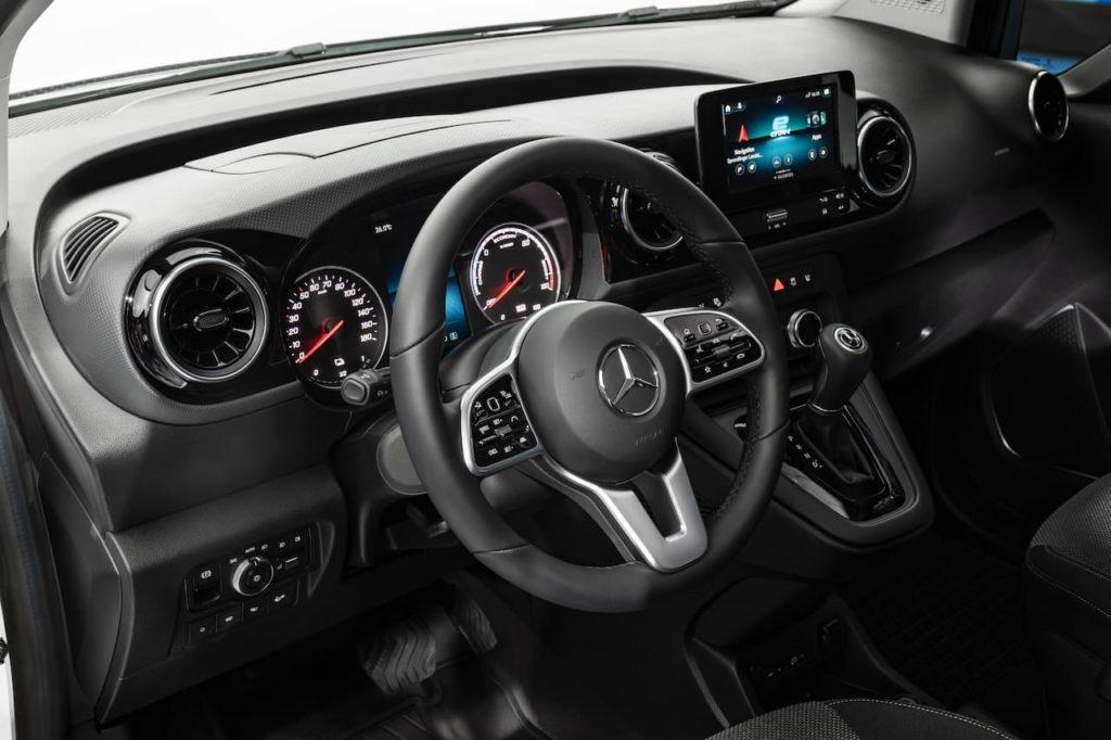 2022 Mercedes-Benz eCitan interior
