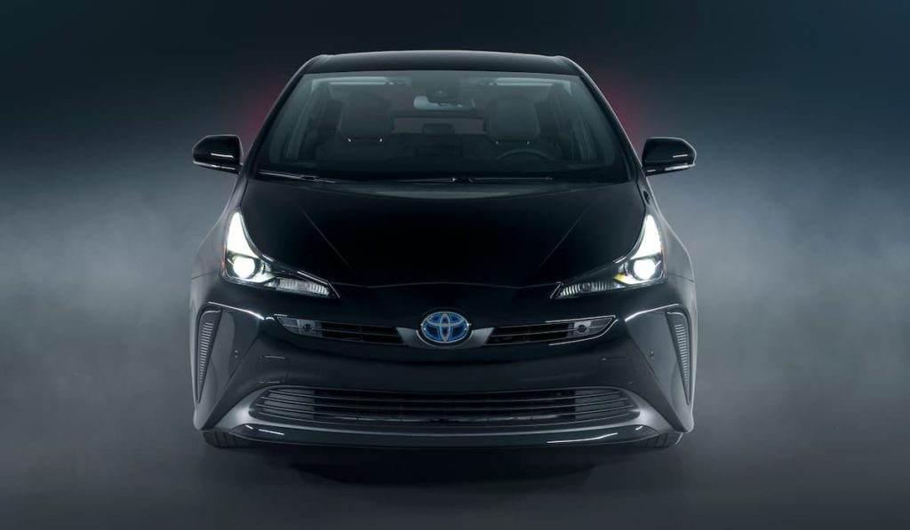 2022 Toyota Prius front