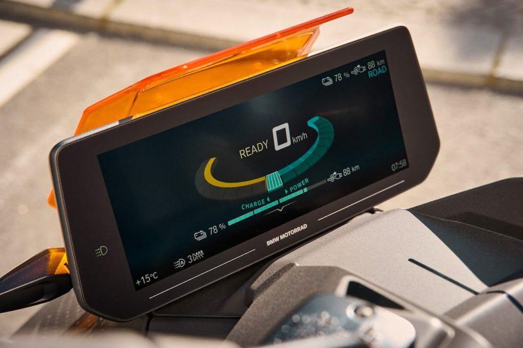 BMW CE 04 instrument console