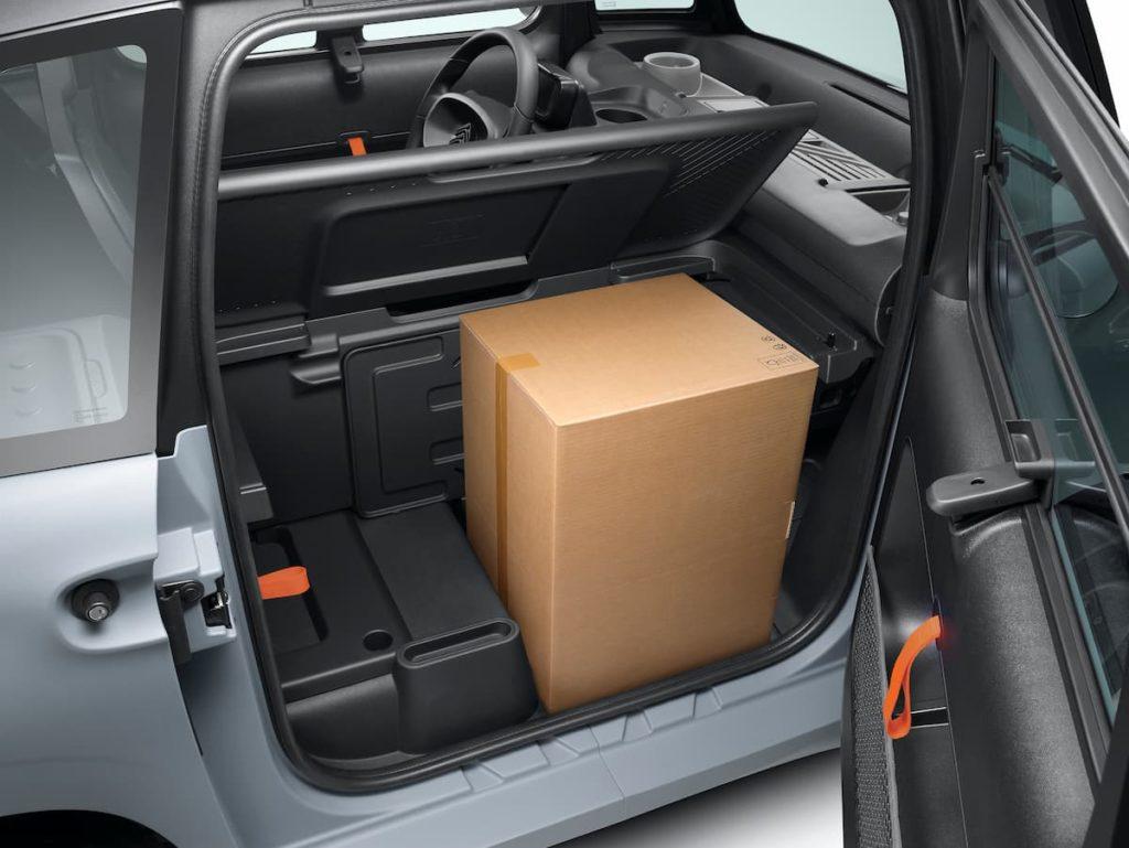 Citroen Ami Cargo version storage