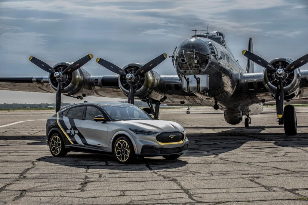 EAA AirVenture Ford Mustang Mach-E Concept