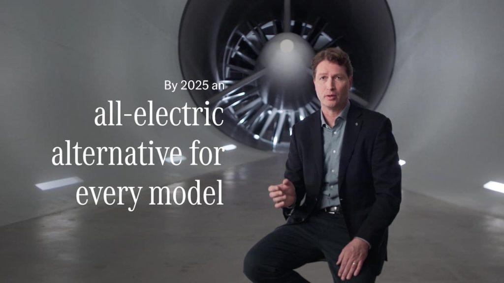 Mercedes-Benz EV strategy 2021 update