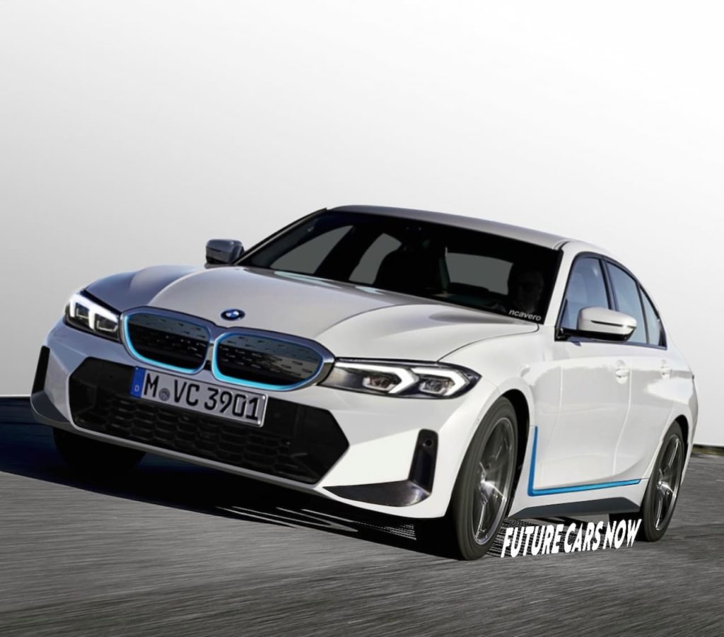 New BMW 3 Series electric (BMW i3) rendering