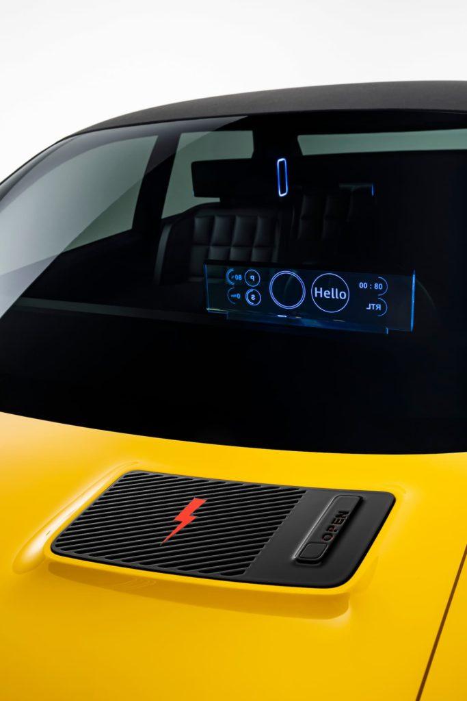 Renault 5 bonnet