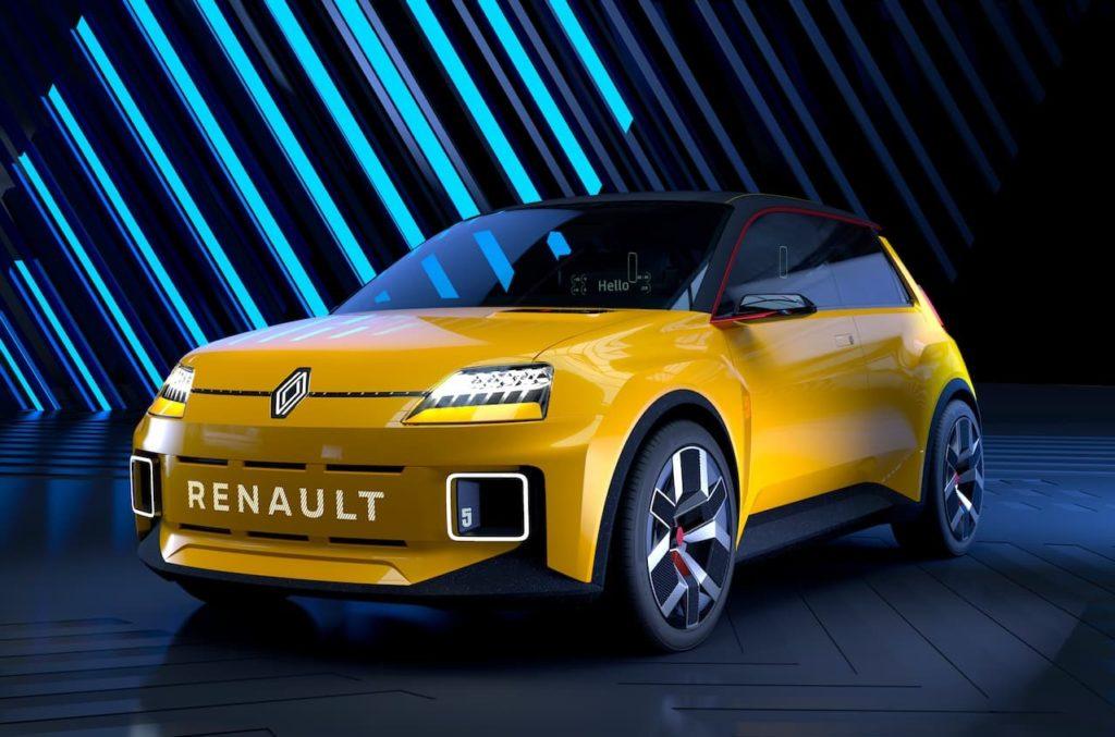 Renault 5 front three quarter
