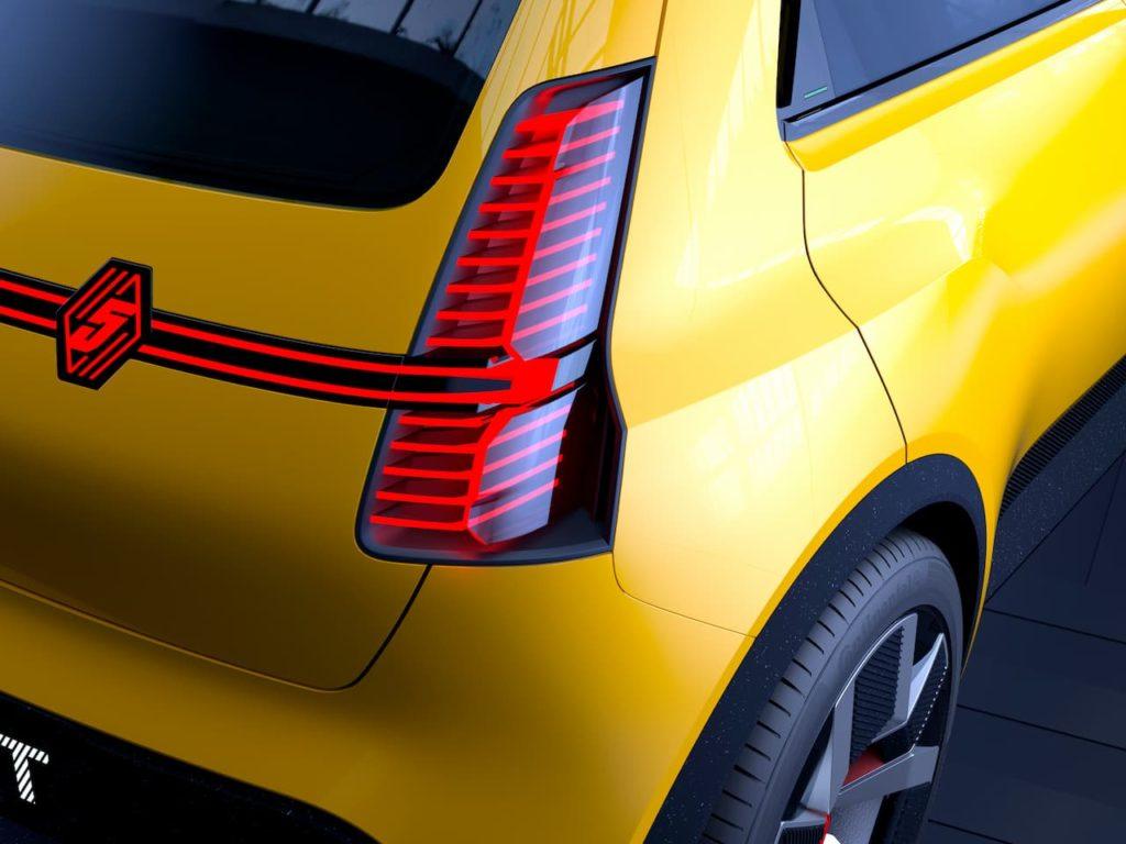 Renault 5 tail lamp