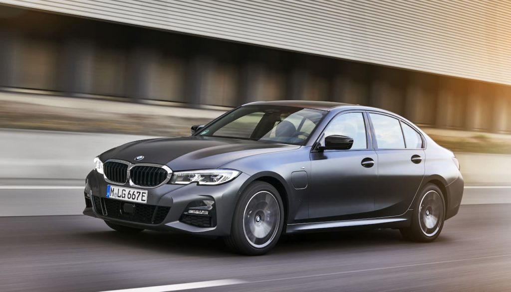 2021 BMW 3 Series 320e hybrid variant