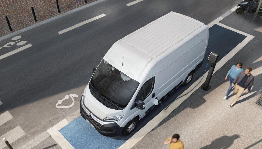 2021 Citroen e-Relay Charging