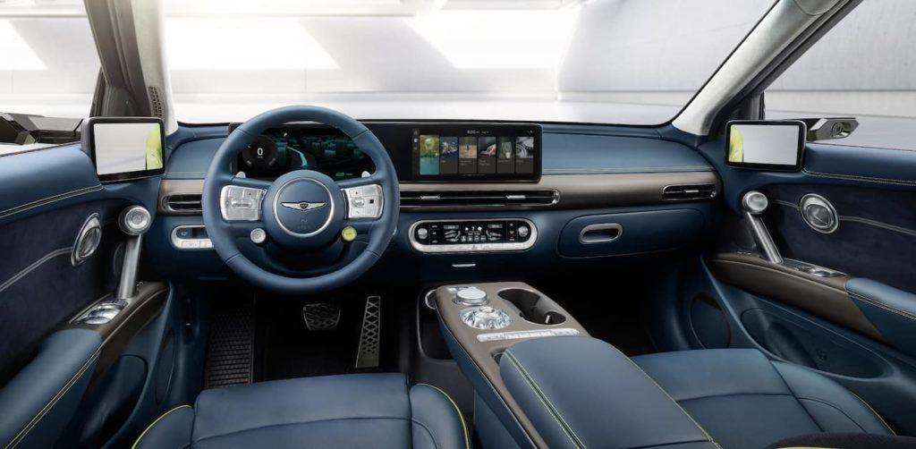 2021 Genesis GV60 interior direct