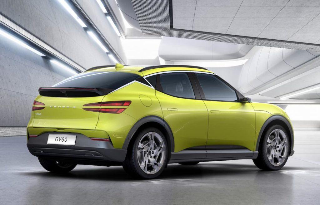 2021 Genesis GV60 rear