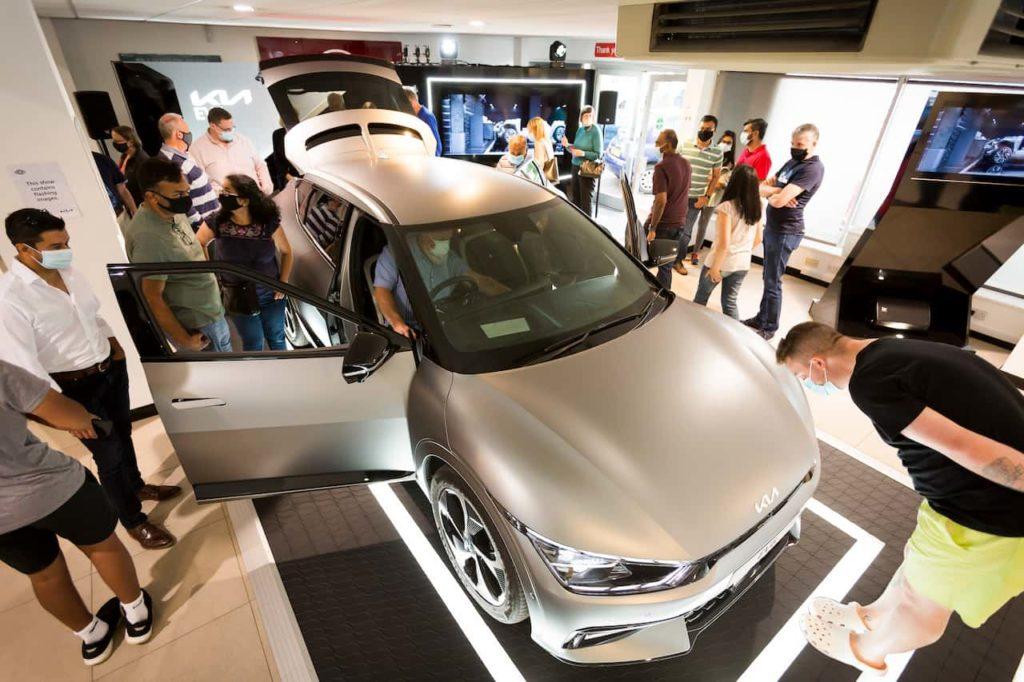 2021 Kia EV6 showcase