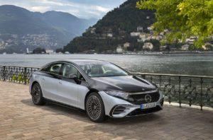 Mercedes EQS Edition 1 hero