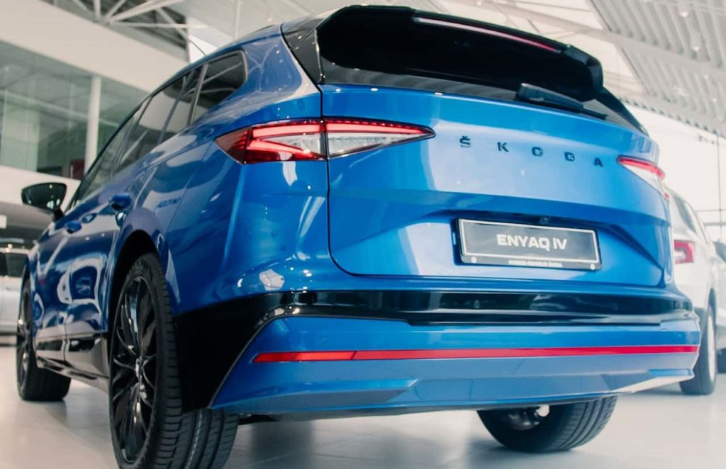 2021 Skoda Enyaq iV HK SportLine rear