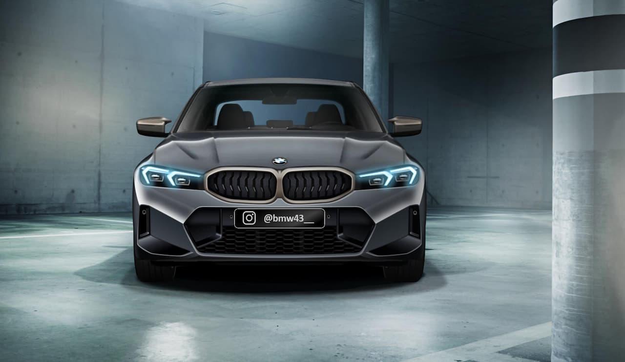 2022 BMW 3 Series Hybrid render