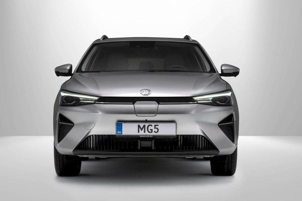 2022 MG5 EV front heatlights