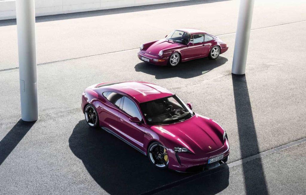 2022 Porsche Taycan Rubystar
