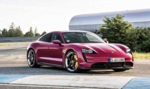 2022 Porsche Taycan hero