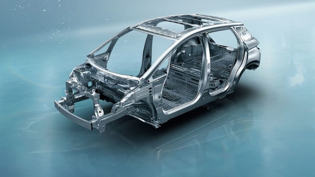 BYD Dolphin structure