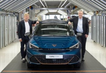 Cupra Born production starts in Germany; customer deliveries in a few weeks