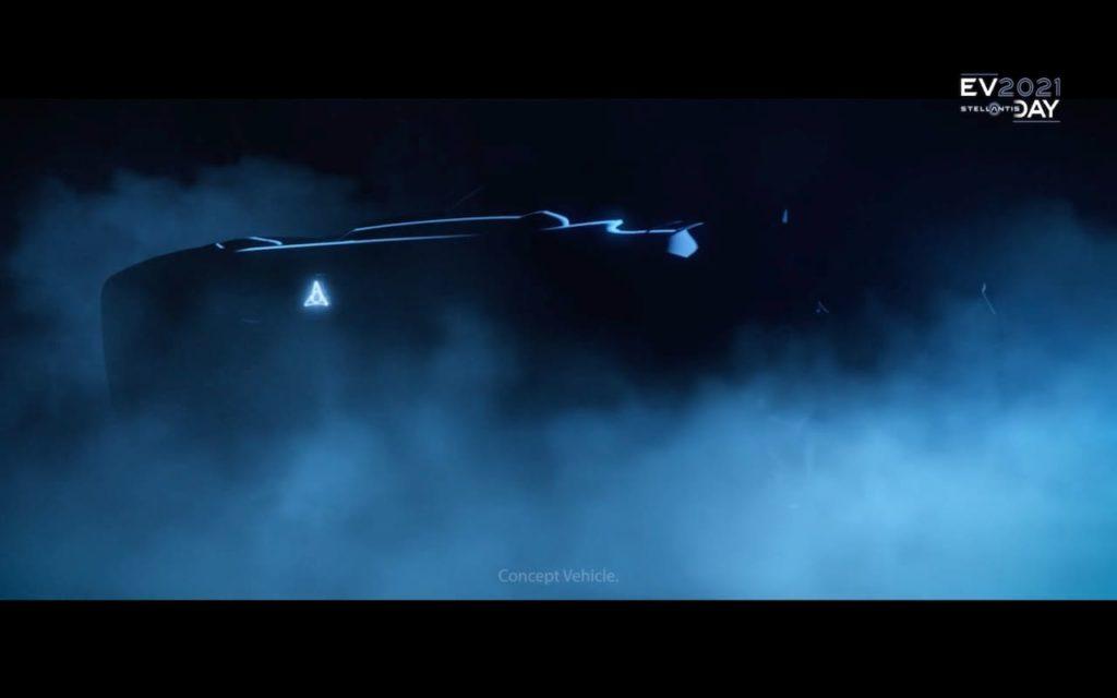 Dodge electric car concept teaser