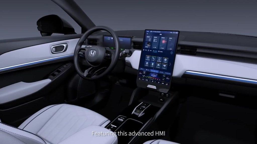 Honda eNS1 Honda eNP1 interior